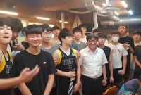 인천제물포고등학교 농구부 후원